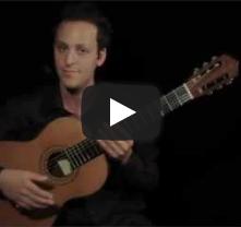 دورة  الجيتار الكلاسيكي - الدرس الأول-  الجيتار الكلاسيكي