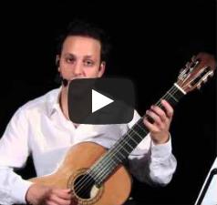 دورة تعلم الجيتار الكلاسيكي - الدرس الرابع عشر  - ج٣ -دوزان الجيتار