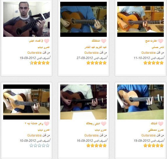 فيديوهات جيتارابيا: شارك بعزفك مع جميع اعضاء جيتارابيا!