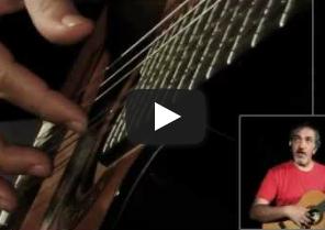 دورة تعلم الجيتار ٢ - الدرس الأول- أسلوب العزف بالأصابع أو الـ Fingering